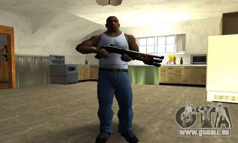 Flame Shotgun für GTA San Andreas dritten Screenshot
