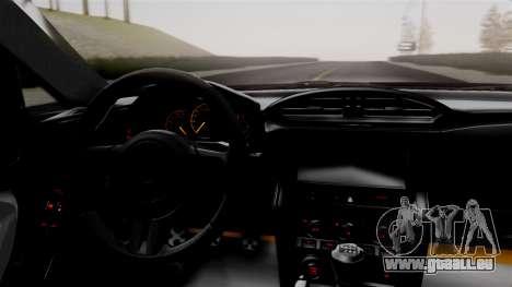 Toyota GT86 PJ pour GTA San Andreas vue de droite