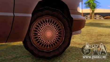 Premier Utility Van pour GTA San Andreas sur la vue arrière gauche