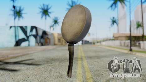 Frying Pan from Silent Hill Downpour für GTA San Andreas zweiten Screenshot