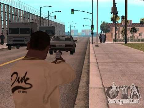 Cleo Weapon Zoom pour GTA San Andreas deuxième écran