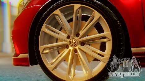 Volkswagen Passat Variant R-Line pour GTA San Andreas sur la vue arrière gauche