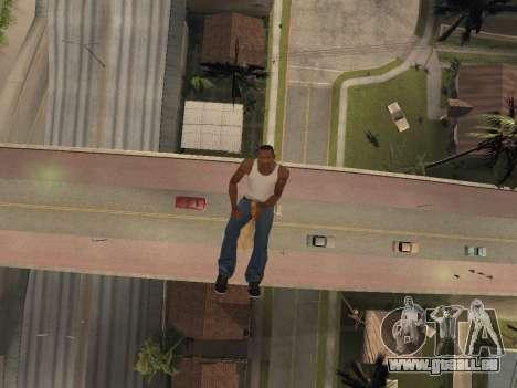 Balai pour GTA San Andreas troisième écran