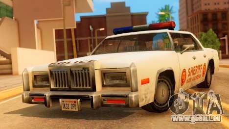 4-door Police Esperanto für GTA San Andreas