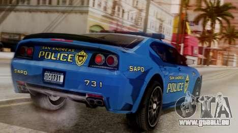 Hunter Citizen SAPD IVF für GTA San Andreas linke Ansicht