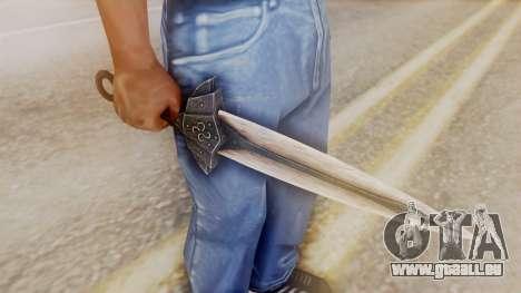 Dragon Dagger pour GTA San Andreas deuxième écran