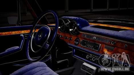 Mercedes-Benz 300 SEL 6.3 pour GTA San Andreas vue de droite