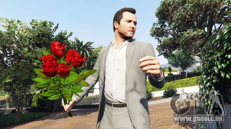 GTA 5 Ein Strauß Rosen zweite Screenshot