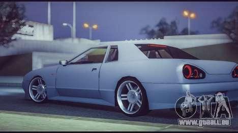 Elegy Lumus pour GTA San Andreas laissé vue