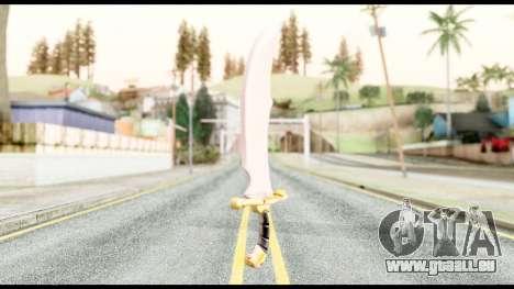 Falchion Sword of Final Fantasy für GTA San Andreas