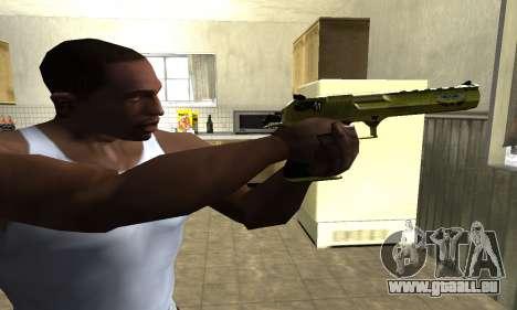 Sponge Bob Deagle pour GTA San Andreas deuxième écran