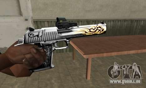 Flame Deagle für GTA San Andreas