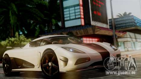 NFS Rivals Koenigsegg Agera R Racer für GTA San Andreas