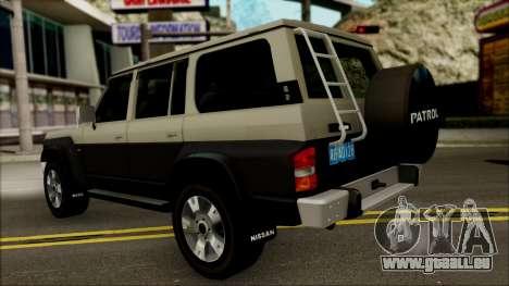 Nissan Patrol Y60 für GTA San Andreas rechten Ansicht