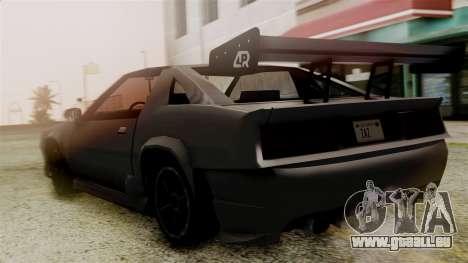 AR Buffalo pour GTA San Andreas laissé vue