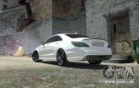 Mercedes-Benz CLS 63 AMG pour GTA 4 est une gauche