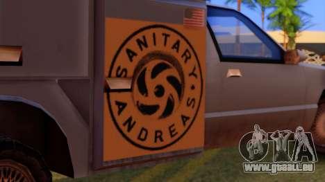 Premier Utility Van pour GTA San Andreas vue de droite