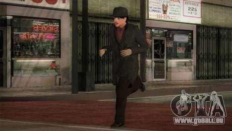 Sherlock Holmes v2 pour GTA San Andreas