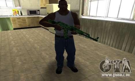 Ganja АК-47 für GTA San Andreas dritten Screenshot