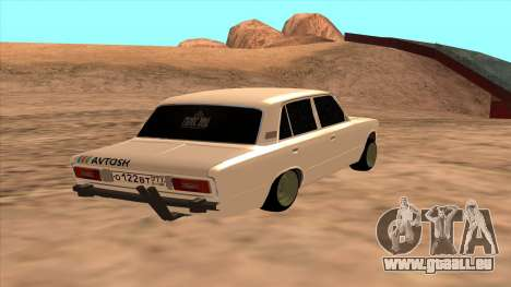 HUNTER 2106 Ostentum für GTA San Andreas linke Ansicht