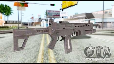 M4 from Resident Evil 6 pour GTA San Andreas deuxième écran