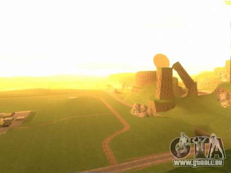 Green desert de Las Venturas v2.0 pour GTA San Andreas deuxième écran