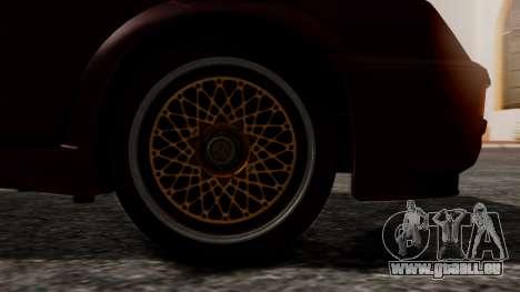 Ford Sierra RS500A für GTA San Andreas zurück linke Ansicht