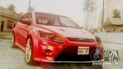 Ford Focus RS für GTA San Andreas