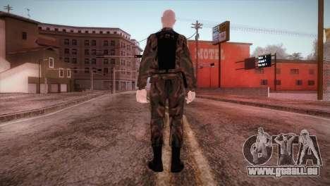 Shaved Soldier pour GTA San Andreas troisième écran