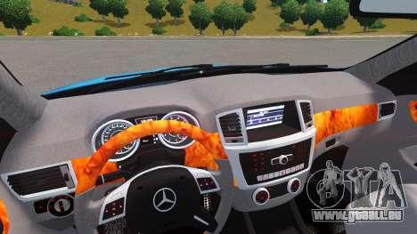 Mercedes-Benz GL 63 AMG pour GTA 4 est un droit