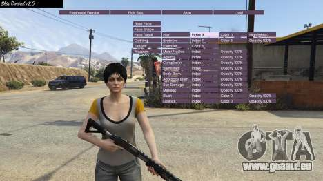 GTA 5 Skin Control 2.0 dritten Screenshot