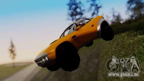 Coil Brawler Gotten Gains für GTA San Andreas Innenansicht