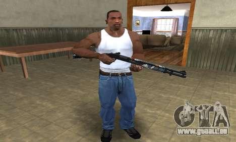 Sportive Shotgun pour GTA San Andreas deuxième écran