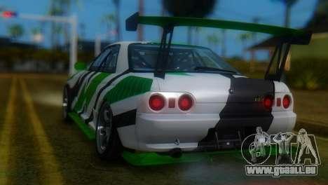 Nissan Skyline GT-R R32 für GTA San Andreas