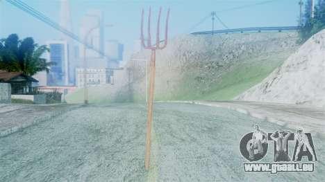 Red Dead Redemption Pitchfork für GTA San Andreas zweiten Screenshot