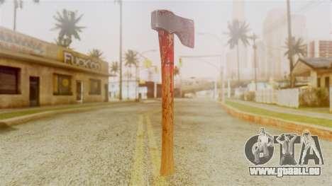 GTA 5 Hatchet v2 pour GTA San Andreas deuxième écran
