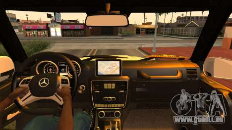 Mercedes-Benz G500 4x4 für GTA San Andreas rechten Ansicht