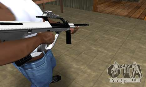 Chrome AUG pour GTA San Andreas