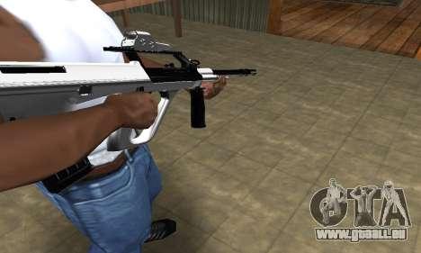 Chrome AUG für GTA San Andreas