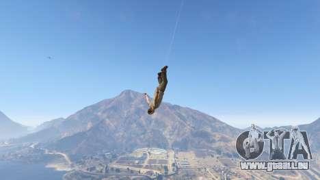 GTA 5 Superhero quatrième capture d'écran