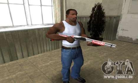 Stone Shotgun für GTA San Andreas dritten Screenshot