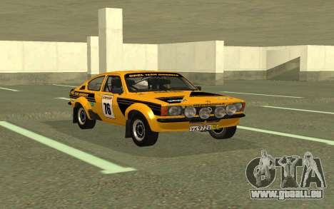 Opel Kadett Rally pour GTA San Andreas