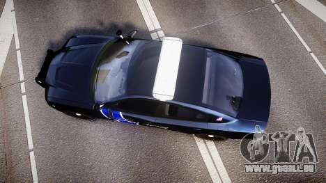 Dodge Charger 2014 LCPD [ELS] für GTA 4 rechte Ansicht