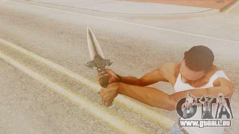 Dragon Dagger für GTA San Andreas dritten Screenshot