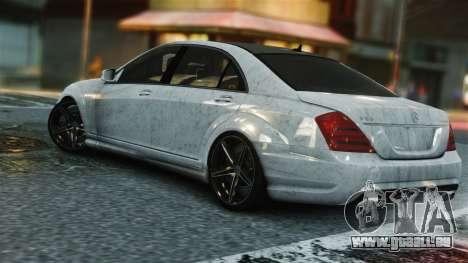 Mercedes-Benz S65 AMG Vossen pour GTA 4 Vue arrière