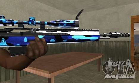 Water Sniper Rifle für GTA San Andreas zweiten Screenshot