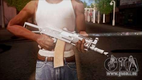AKC-47У von Battlefield Hardline für GTA San Andreas dritten Screenshot