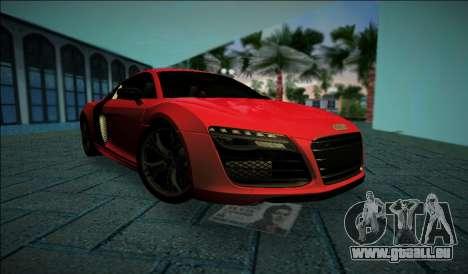 Audi R8 V10 Plus 2014 pour GTA Vice City