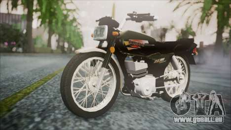 Suzuki AX 100 für GTA San Andreas