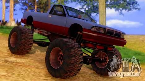 Premier Monster pour GTA San Andreas vue de droite